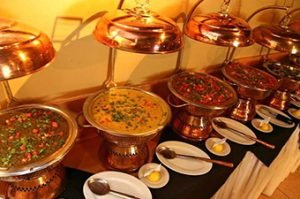 Indian and local buffet catering solutions